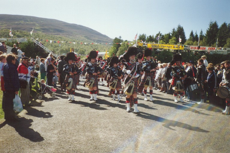 Highland Gathering bei Braemar